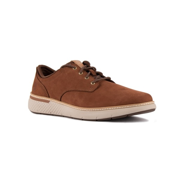 Hombre Mark Timberland Oxford Cross Zapato Marrón bg67yYf