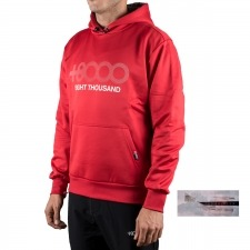 +8000 Sudadera Almaden 18I Carmesi Rojo Hombre