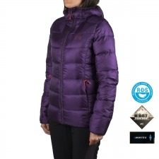 Millet Plumas K Down JKT Black Berry Purple Morado Mujer