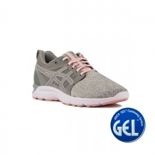 Asics Gel Torrance Stone Grey Frosted Rose Gris Rosa Mujer