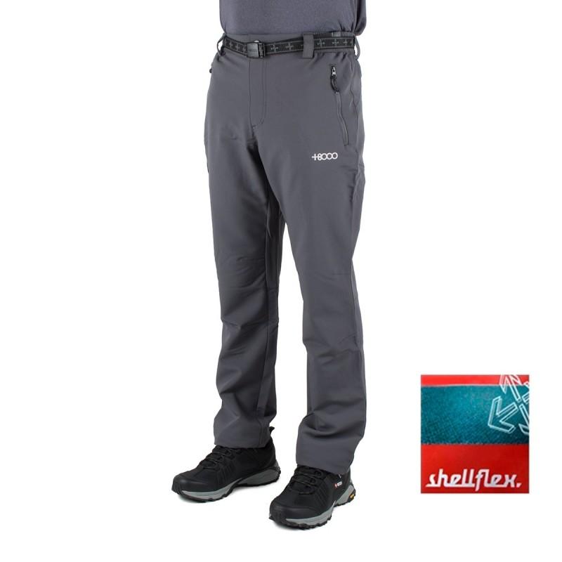 +8000 Pantalón Monegros 18I Antracita Hombre