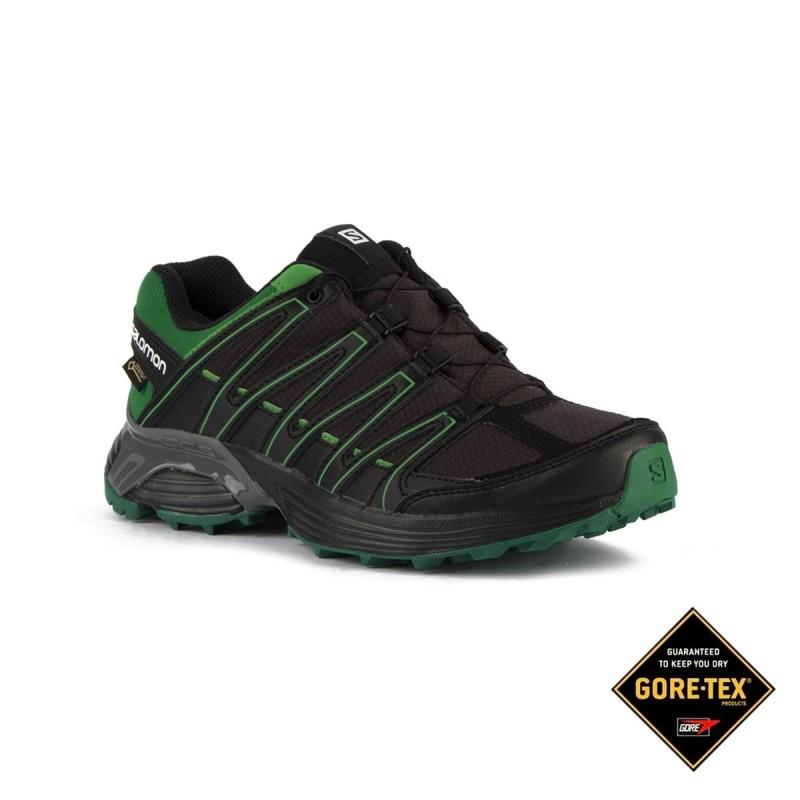 Salomon Zapatilla XT Asama GTX Phantom Fern Green Negro Verde Hombre