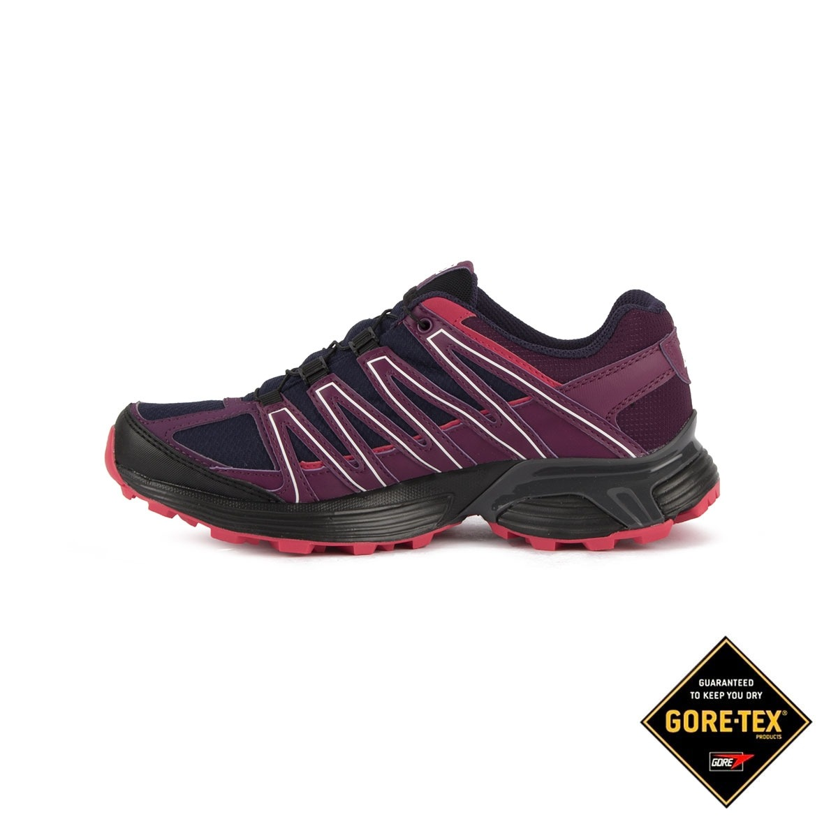 Salomon Zapatilla XT Asama GTX W Evening Blue Dark Purple Morado Azul Mujer