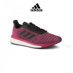 Adidas Zapatilla Solar Drive W Rosa Negro Mujer