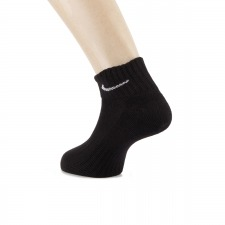 Nike Calcetines SX4926 Negro (Pack 3 pares)
