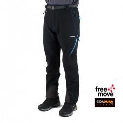 Trangoworld Pantalón Prote Extreme DS Negro Hombre
