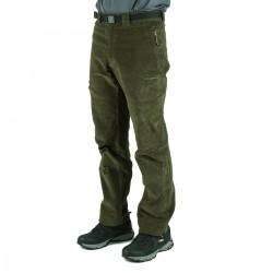 Trangoworld Pantalón de pana Goym Verde Claro Hombre