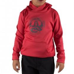 Ternua Sudadera Hylor Hoody K C Rojo Niño