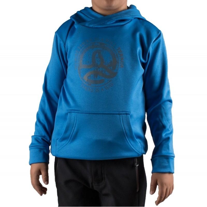 Ternua Sudadera Hylor Hoody K D Azul Eléctrico Niño