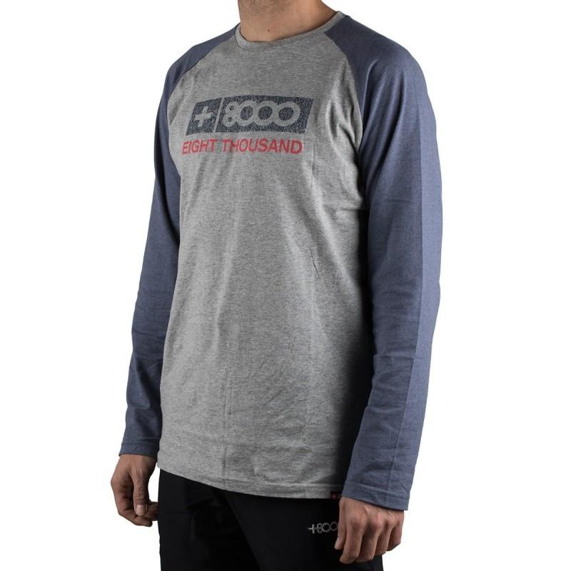 +8000 Camiseta Drushby 18I Ceniza Vigore Hombre
