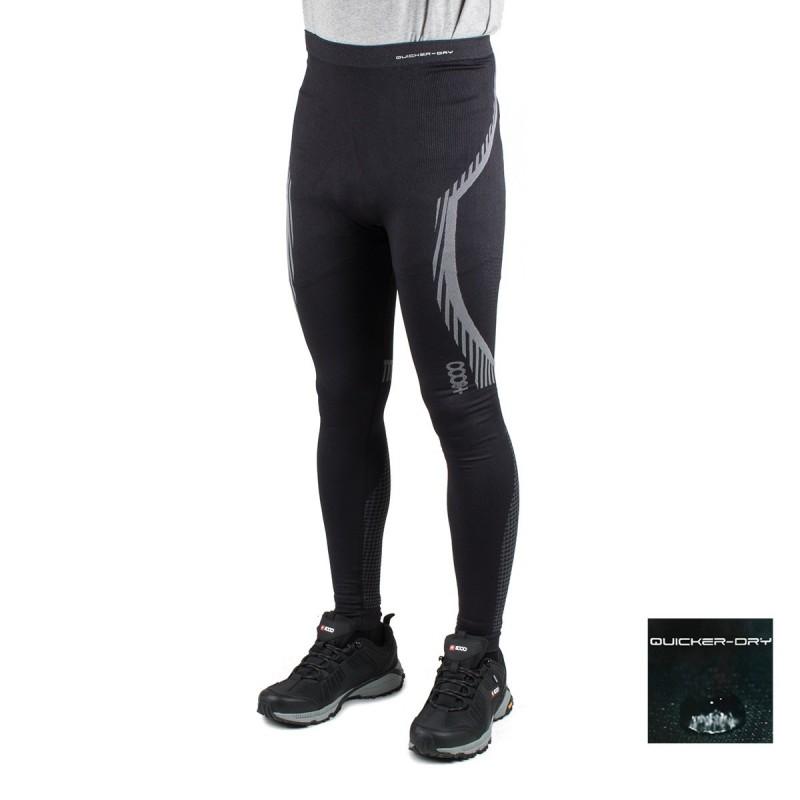 +8000 Pantalón de compresión Gabarro 18I Negro Hombre