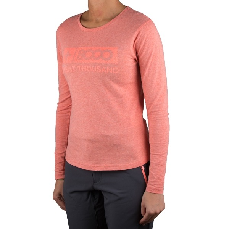+8000 Camiseta Pumari 18I Salmon Vigore Mujer