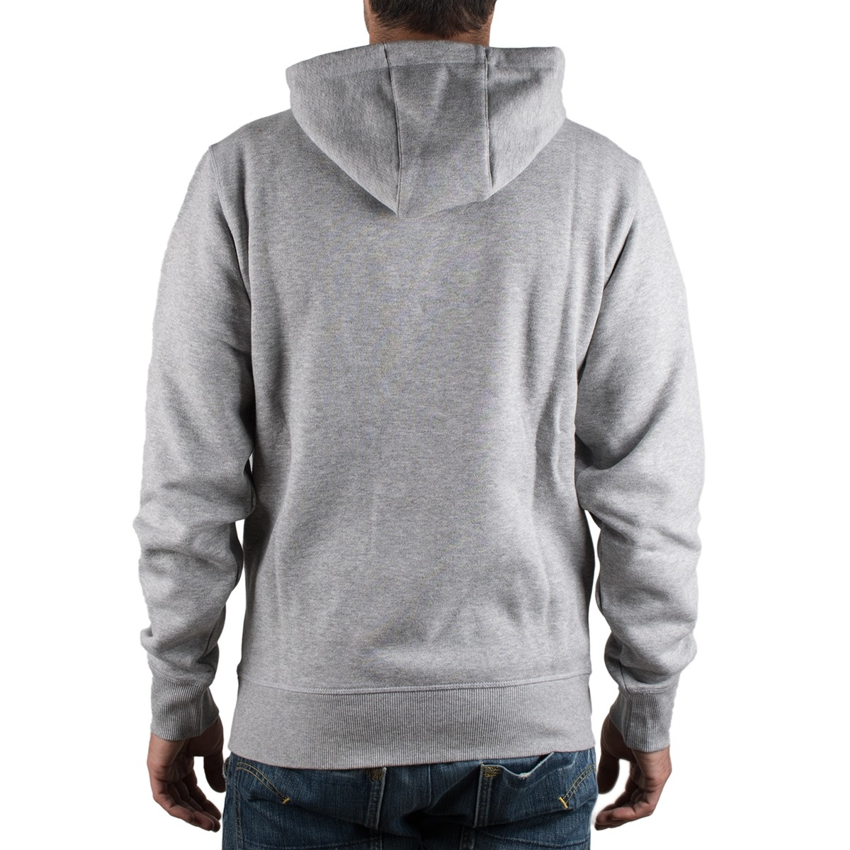 New Balance sudadera Essentials Brush Pullover Hoodie Gris Hombre