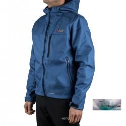 +8000 Softshell Teleno 18I Azul Tinta Teja Bicolor Hombre