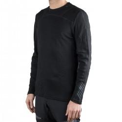 Helly Hansen Camiseta térmica Lifa Merino Crew Negro Hombre