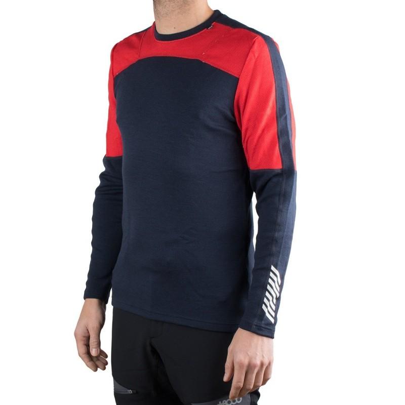 Helly Hansen Camiseta térmica Lifa Merino Crew Marino Rojo Hombre