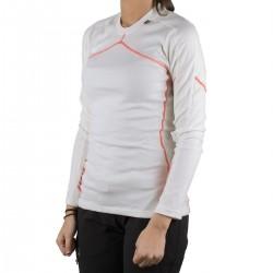 Helly Hansen Camiseta térmica Lifa Merino Crew Blanco Mujer