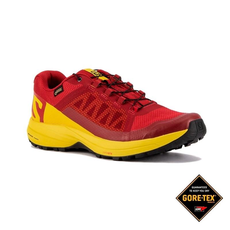 Salomon Zapatilla XA Elevate GTX Red Empire Yellow Black Hombre