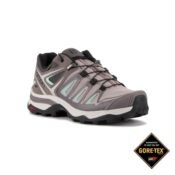 Salomon Zapatilla X Ultra 3 Goretex W Magnet Shark Bearch Glass Mujer