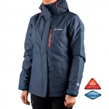 Columbia Chaqueta Alpine Action Azul oscuro Mujer