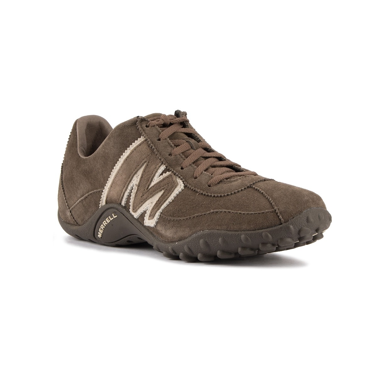 Merrell Zapatilla Sprint Blast Leather Gunsmoke White Hombre