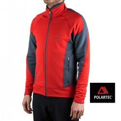 Trangoworld Pullover Artoles Rojo Hombre