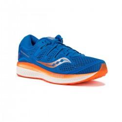Saucony Triumph ISO 5 Azul Naranja Hombre