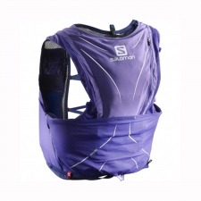 Salomon Mochila Adv Skin 12 Set Purple Opulence Morado