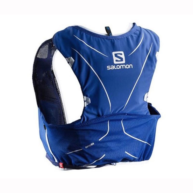 Salomon Mochila Adv Skin 5 Set Surf the Web Azul