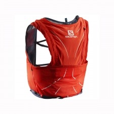 Salomon Mochila Adv Skin 12 Set Fiery Red