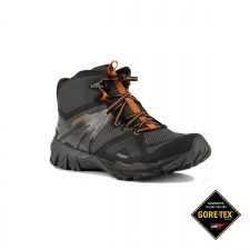 Merrell Bota MQM Flex Mid GTX Burnt Granite Gris Naranja Hombre