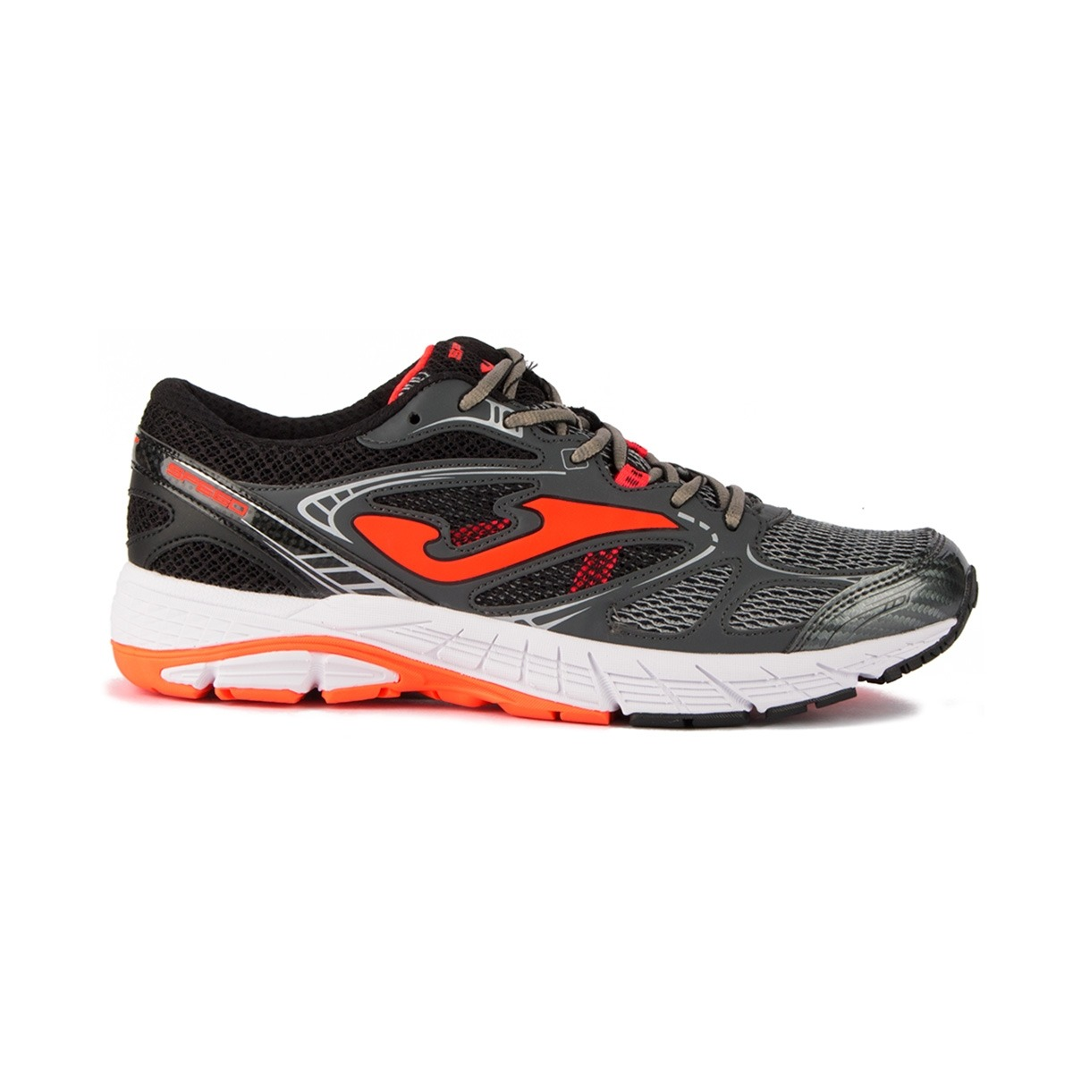 Joma R. Speed Men 917 Darl Grey Gris Naranja Hombre
