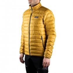 Patagonia Plumas Down Sweater Textile Green Amarillo Hombre