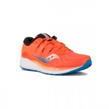 Saucony Ride Iso Orange Blue Naranja Azul Hombre