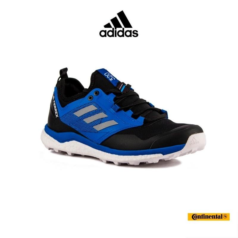 best loved 127d5 8b7a3 Adidas Terrex Agravic XT Negro Azul Hombre