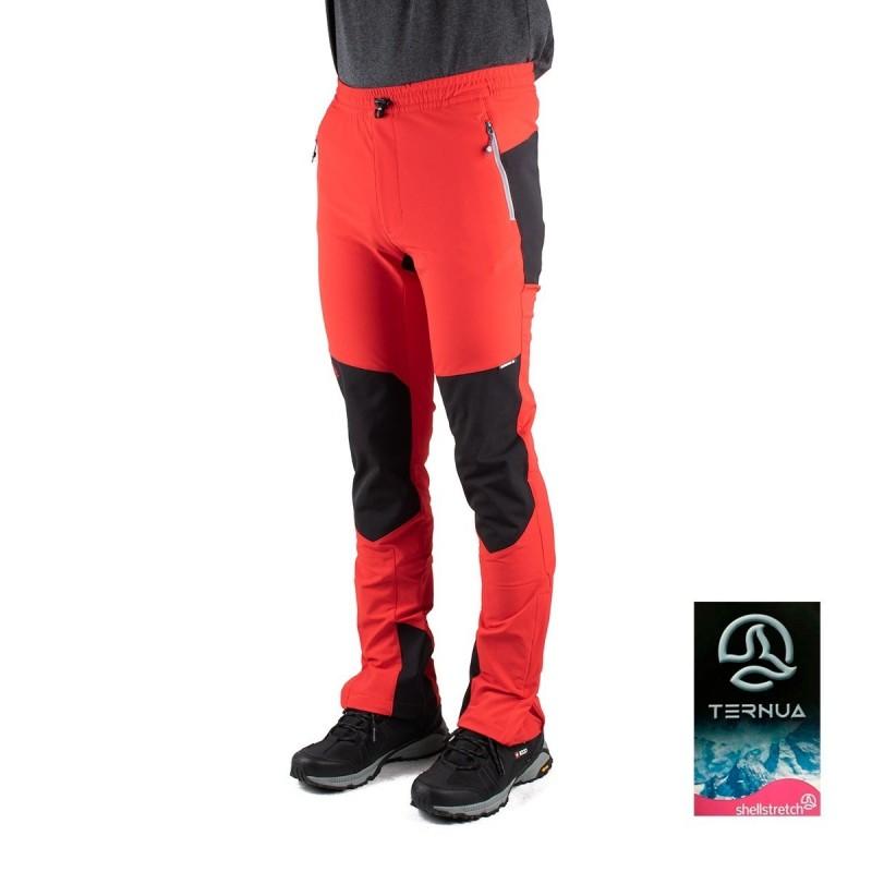 Ternua Pantalon Arria A Rojo Hombre