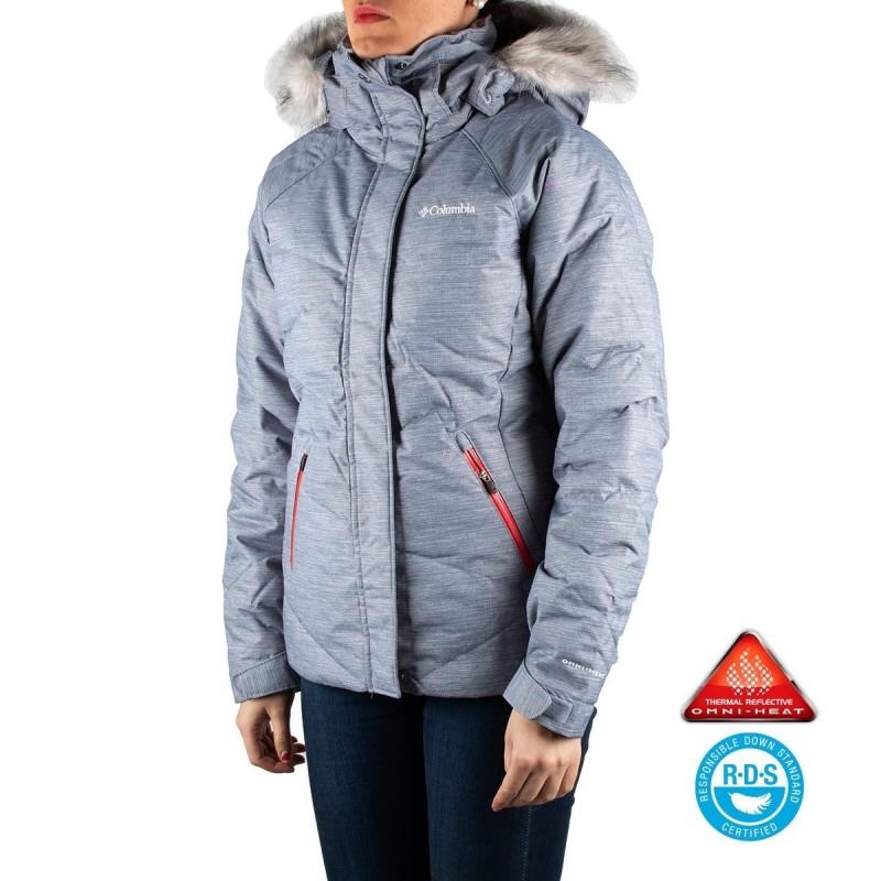 Columbia Plumas Lay 'D' Down™ Jacket Astral Twill Print Mujer | Tienda Online de Columbia