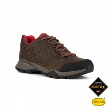 The North Face Zapatilla Hedgehog Hike II GTX Bone Brown Red Marrón Rojo Goretex Hombre