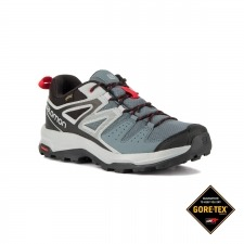 Salomon Zapatilla X Radiant GTX® Stormy Weather Quarry Gris Negro Hombre
