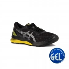 Asics Gel Nimbus 21 Illusion Black Lemon Spark Hombre