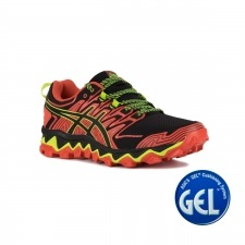 Asics Gel FujiTrabuco 7 Red Snapper Black Hombre