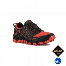 Asics Gel FujiTrabuco 7 GTX Red Snapper Dark Grey Hombre