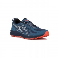 Asics Frequent Trail Grand Shark Peacoat Azul Naranja Hombre