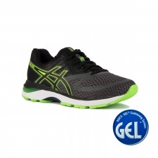 Asics Gel Pulse 10 Dark Grey Green Gecko Gris Verde Hombre