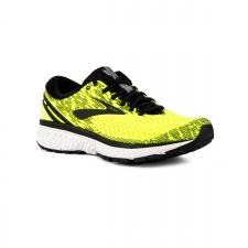 Brooks Ghost 11 Black White Nightlife Hombre