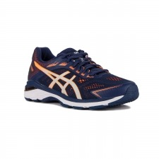 Asics GT-2000 7 Indigo Blue Shocking Orange Azul Naranja Hombre