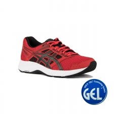 Asics Gel Contend 5 Classic Red Dark Grey Rojo Hombre