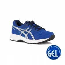 Asics Gel Contend 5 Imperial White Azul Blanco Hombre