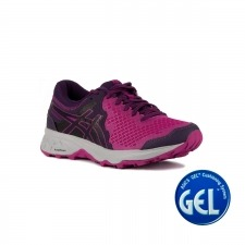 Asics Gel Sonoma 4 Purple Spectrum Night Shade Rosa Morado Mujer