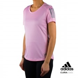 Adidas camiseta Own the Run Tee rosa mujer